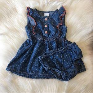30% Off Bundles! Denim Dress & Matching Bloomers!